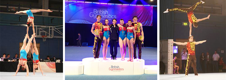 ATA Mens Pair Wins Gold in Great Britain